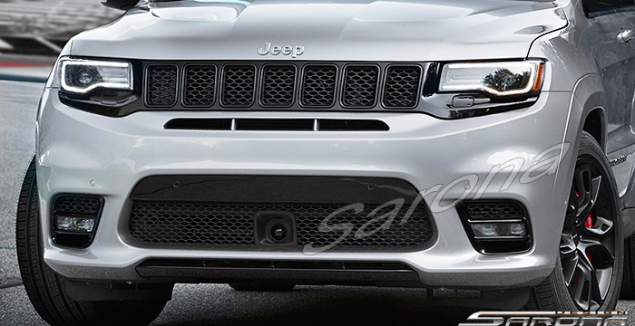 Custom Jeep Grand Cherokee  SUV/SAV/Crossover Front Bumper (2014 - 2019) - $890.00 (Part #JP-026-FB)